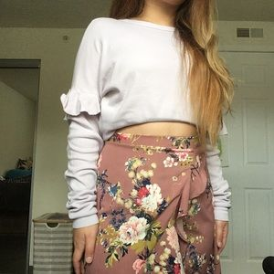 Urban Outfitters BDG Collective Floral Skirt